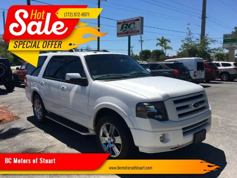 2009 Ford Expedition Limited for sale at BC Motors of Stuart in Stuart FL