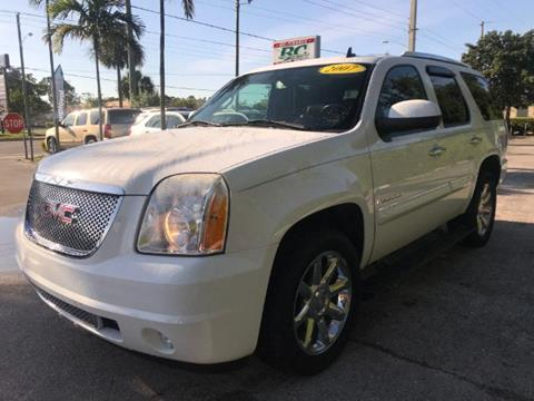 2007 GMC Yukon Denali for sale at BC Motors of Stuart in Stuart FL