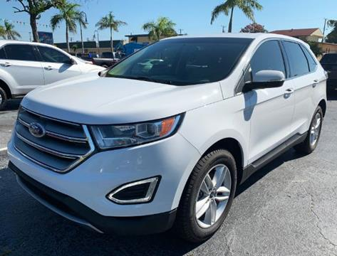 2016 Ford Edge SEL for sale at BC Motors of Stuart in Stuart FL
