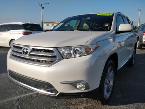 2012 Toyota Highlander for sale in Stuart, FL