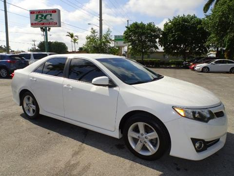 2014 Toyota Camry for sale in Stuart, FL