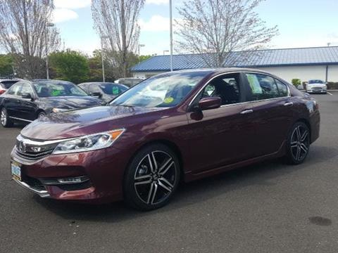 2016 Honda Accord for sale in Salem, OR