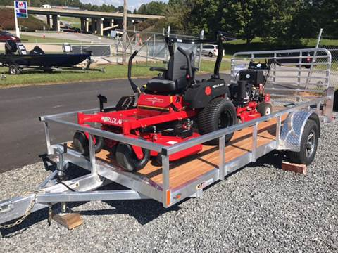 2018 Landscapers package Trailer and 2 mowers for sale in Nebo, NC