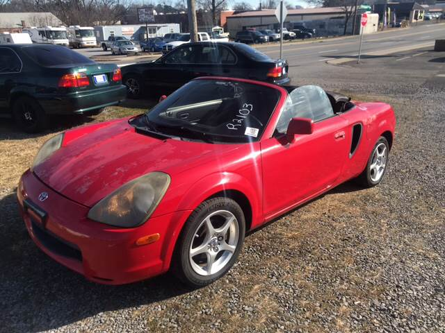 2001 Toyota Mr2 Spyder 2dr Convertible In Dalton Ga Global Imports