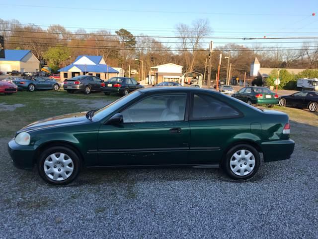 1999 Honda Civic Dx 2dr Coupe In Dalton Ga Global Imports Of