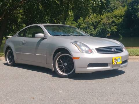 2003 Infiniti G35 for sale in Fredericksburg, VA