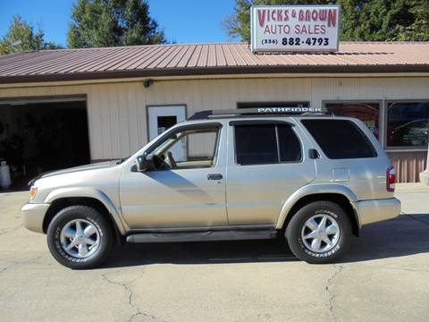 2002 Nissan Pathfinder for sale in High Point, NC