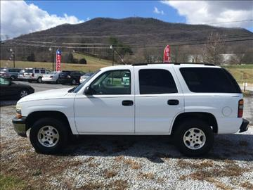 2005 Chevrolet Tahoe for sale at Appalachian Auto Brokers, LLC in Johnson City TN