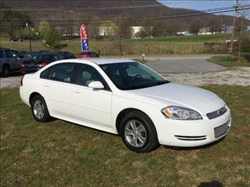 2012 Chevrolet Impala for sale at Appalachian Auto Brokers, LLC in Johnson City TN