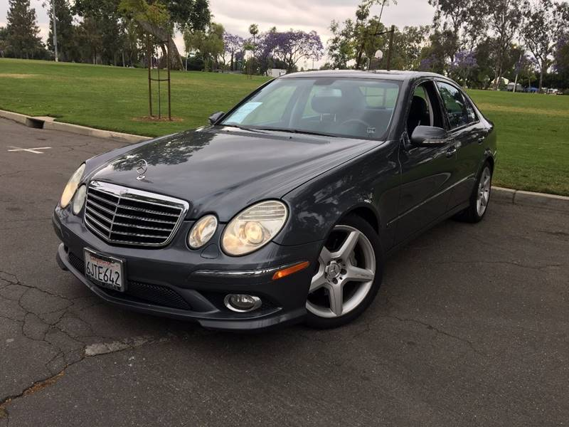 2009 Mercedes Benz E Class For Sale At KH Auto Financing In Ontario CA