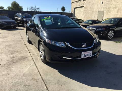 2015 Honda Civic for sale in Ontario, CA