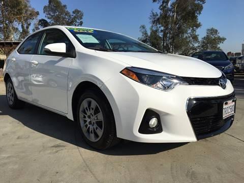 2016 Toyota Corolla for sale in Ontario, CA