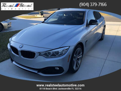 2015 BMW 4 Series for sale at Real Steel Automotive in Jacksonville FL