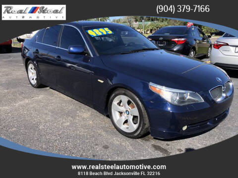 2006 BMW 5 Series for sale at Real Steel Automotive in Jacksonville FL