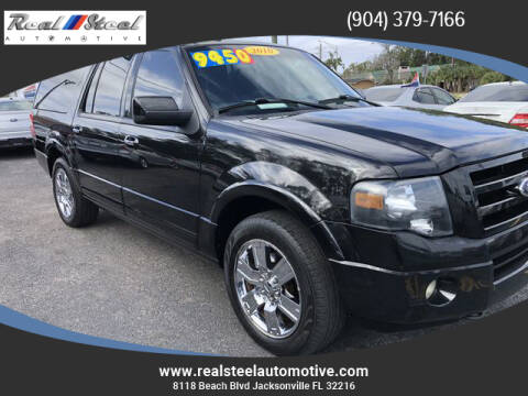 2010 Ford Expedition EL for sale at Real Steel Automotive in Jacksonville FL
