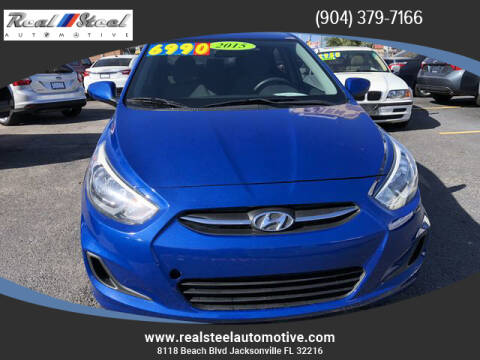 2015 Hyundai Accent for sale at Real Steel Automotive in Jacksonville FL