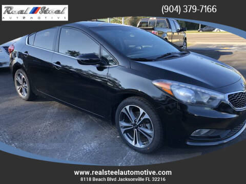 2014 Kia Forte for sale at Real Steel Automotive in Jacksonville FL