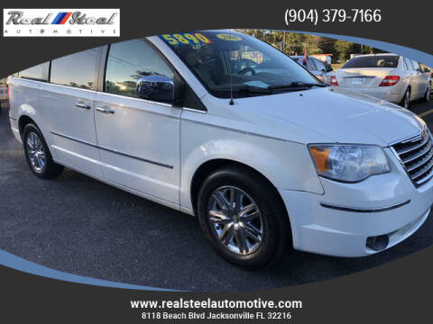 2008 Chrysler Town and Country for sale at Real Steel Automotive in Jacksonville FL