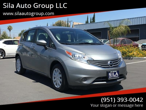 2015 Nissan Versa Note For Sale At Sila Auto Group LLC In San Bernadino CA