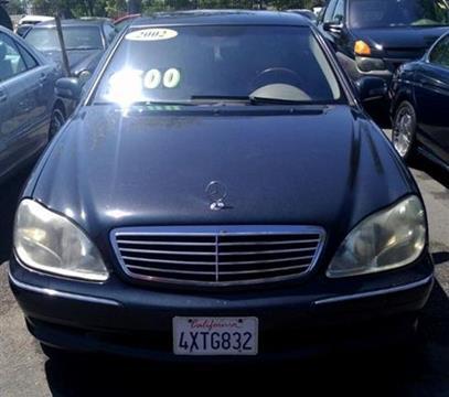 2002 Mercedes-Benz S-Class for sale in San Bernardino, CA