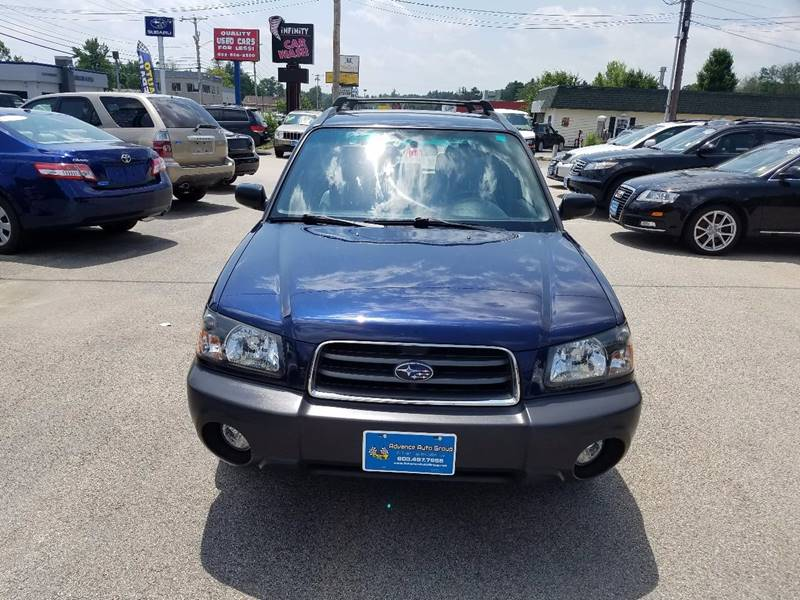 2005 Subaru Forester for sale at Advance Auto Group, LLC in Manchester NH