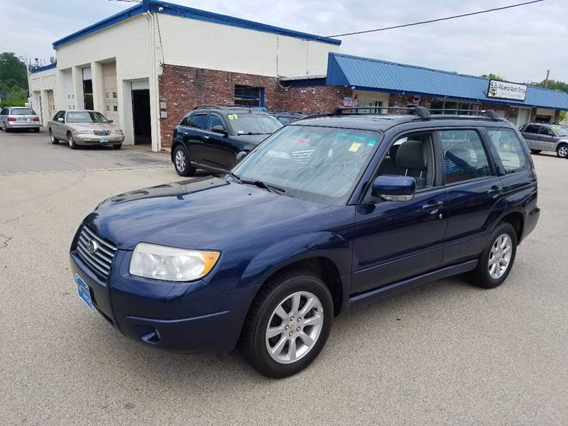 2006 Subaru Forester for sale at Advance Auto Group, LLC in Manchester NH