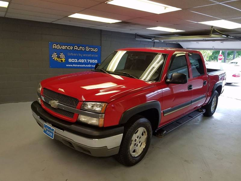 2004 Chevrolet Silverado 1500 for sale at Advance Auto Group, LLC in Manchester NH
