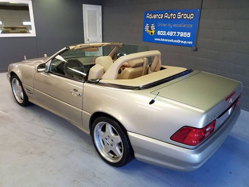 1999 Mercedes-Benz SL-Class for sale at Advance Auto Group, LLC in Manchester NH