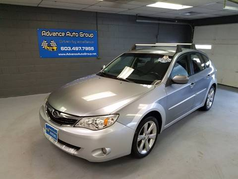 2008 Subaru Impreza for sale at Advance Auto Group, LLC in Manchester NH