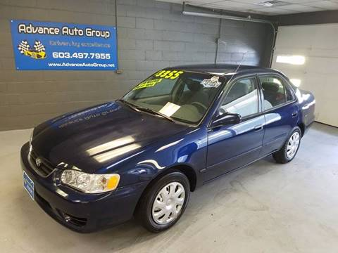 2001 Toyota Corolla for sale at Advance Auto Group, LLC in Manchester NH