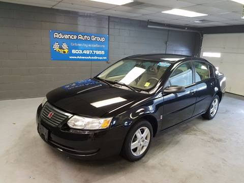 2006 Saturn Ion for sale at Advance Auto Group, LLC in Manchester NH