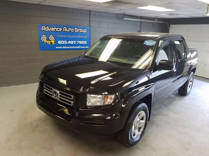2007 Honda Ridgeline for sale at Advance Auto Group, LLC in Manchester NH