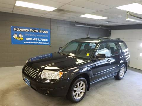 2007 Subaru Forester for sale at Advance Auto Group, LLC in Manchester NH