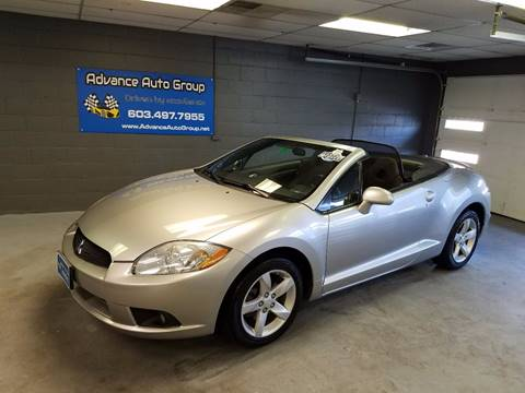 2009 Mitsubishi Eclipse Spyder for sale at Advance Auto Group, LLC in Manchester NH
