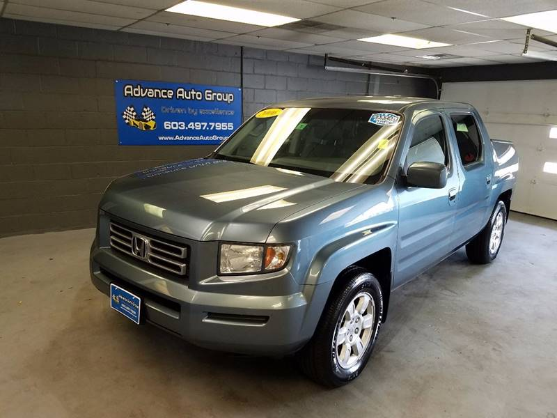 2006 Honda Ridgeline for sale at Advance Auto Group, LLC in Manchester NH