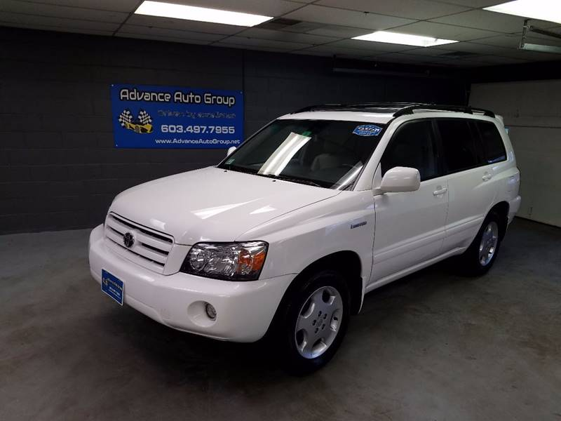 2005 Toyota Highlander for sale at Advance Auto Group, LLC in Manchester NH
