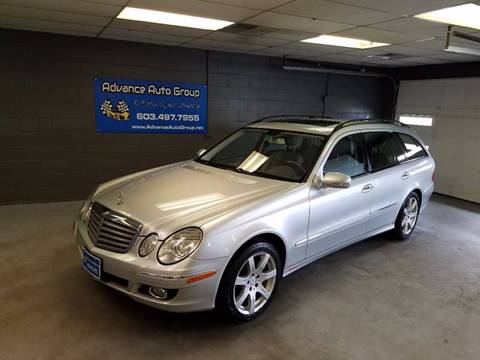 2007 Mercedes-Benz E-Class for sale at Advance Auto Group, LLC in Manchester NH
