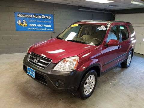 2006 Honda CR-V for sale at Advance Auto Group, LLC in Manchester NH