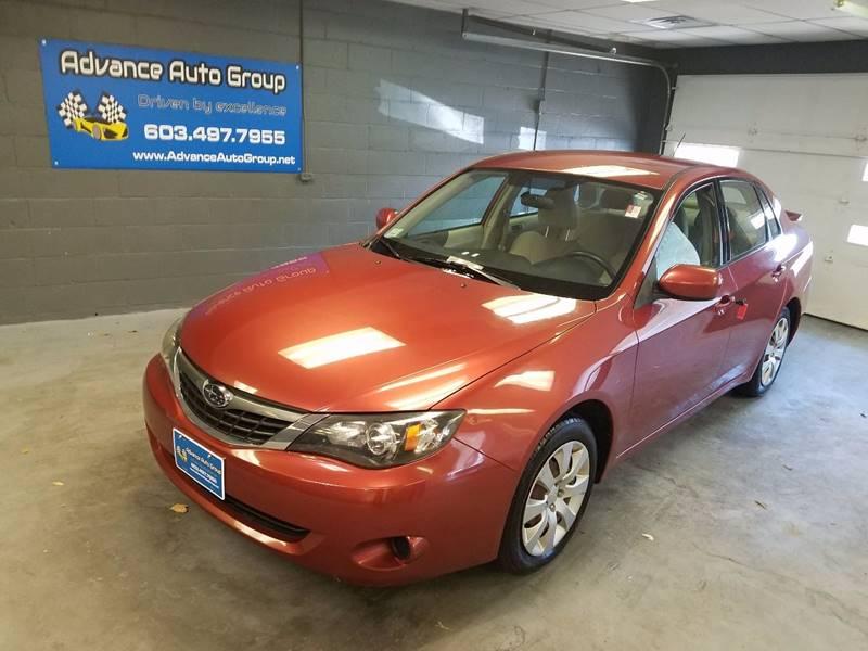 2009 Subaru Impreza for sale at Advance Auto Group, LLC in Manchester NH