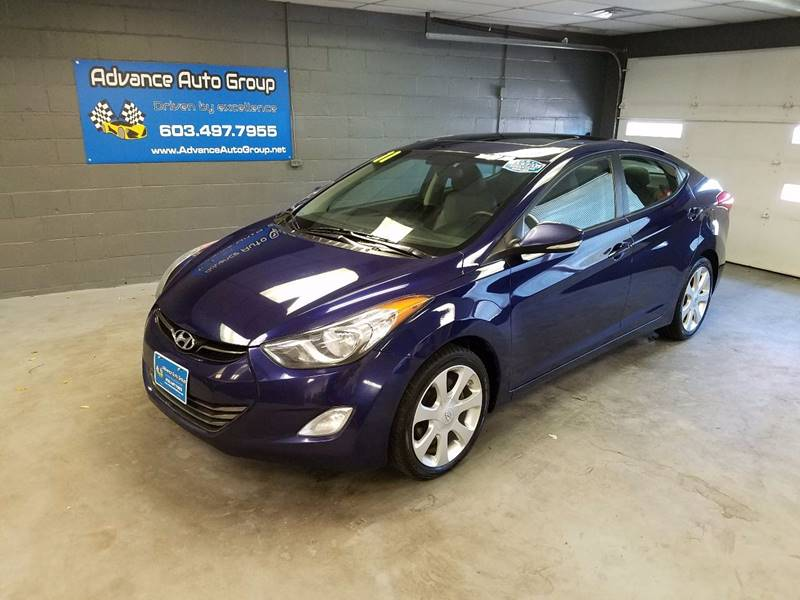2011 Hyundai Elantra for sale at Advance Auto Group, LLC in Manchester NH