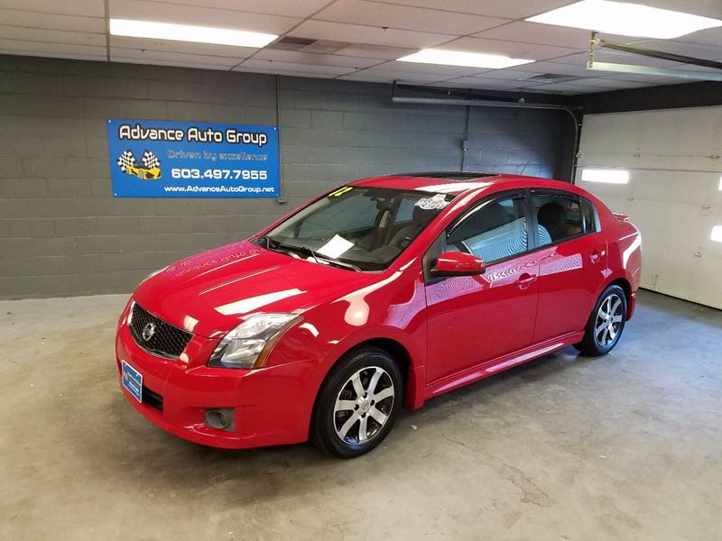 2012 Nissan Sentra for sale at Advance Auto Group, LLC in Manchester NH