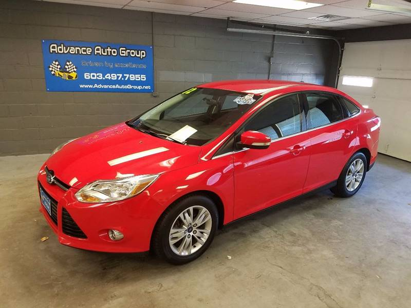 2012 Ford Focus for sale at Advance Auto Group, LLC in Manchester NH