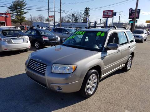 2006 Subaru Forester for sale at Advance Auto Group, LLC in Chichester NH