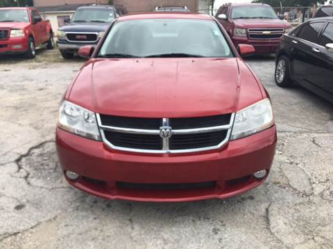 2010 Dodge Avenger for sale at S & P Auto Sales in Houston TX