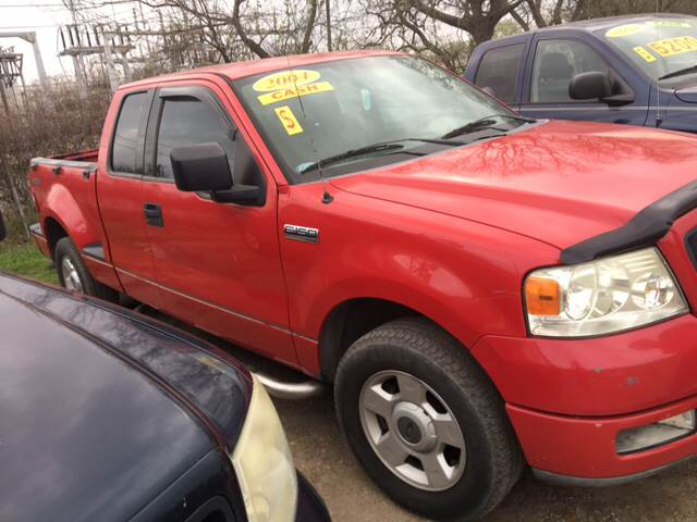 2004 Ford F-150 for sale at S & P Auto Sales in Houston TX