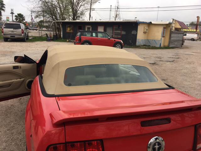 2006 Ford Mustang for sale at S & P Auto Sales in Houston TX