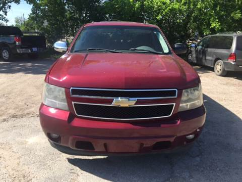 2007 Chevrolet Tahoe for sale at S & P Auto Sales in Houston TX