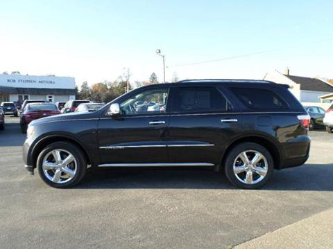 2013 Dodge Durango for sale in Manchester IA