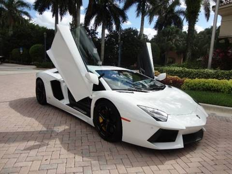 2012 Lamborghini Aventador for sale in Davie, FL