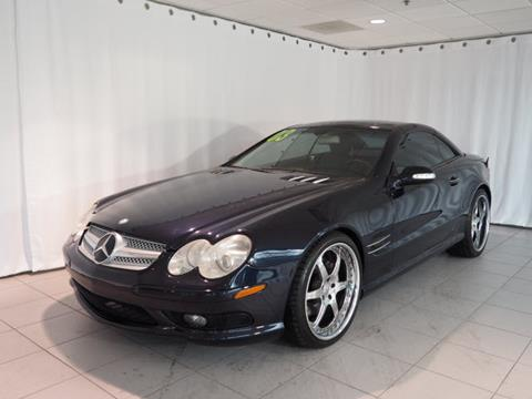 Used 2003 mercedes benz sl class for sale in illinois for Mercedes benz downers grove